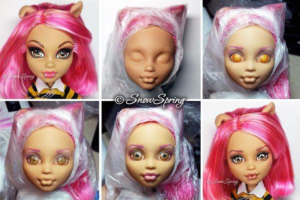Как фото куклы сделать