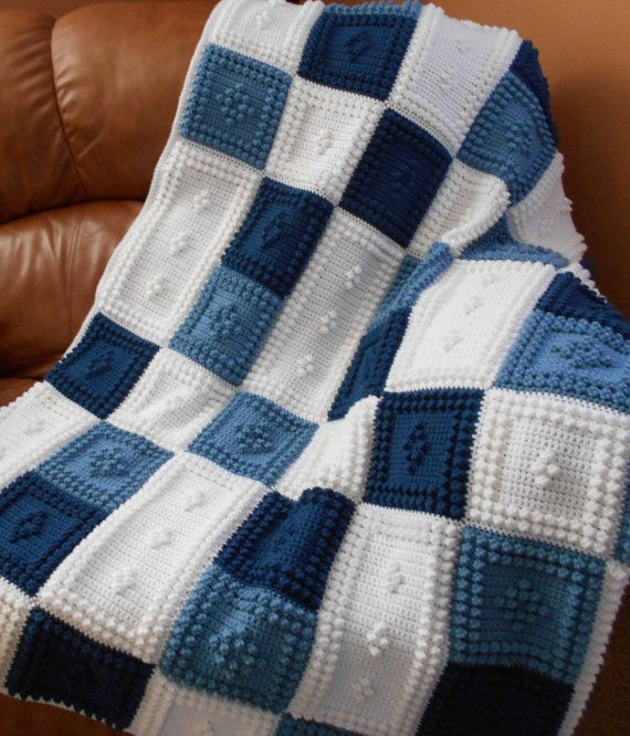 PEACEFUL pattern for crocheted blanket. by ColorandShapeDesign, $5.00