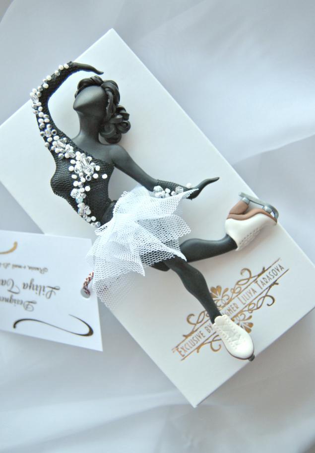 олимпиада, брошь, подарок девушке, подарок женщине, фигуристка