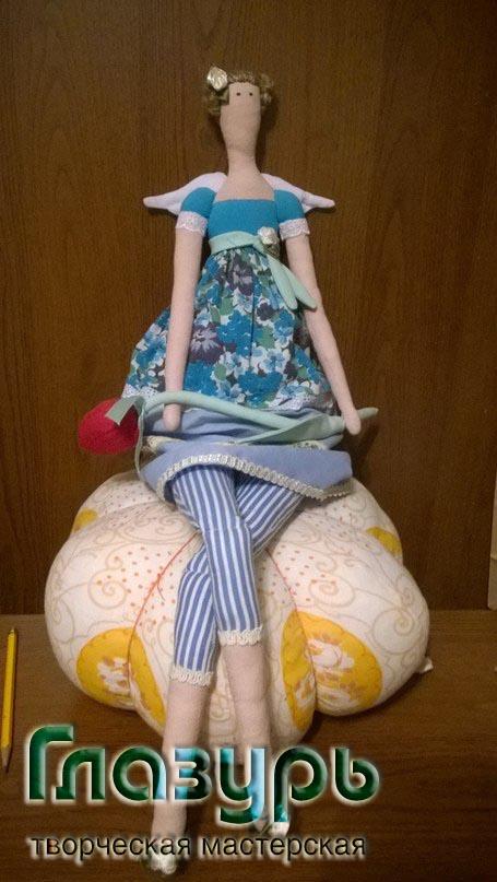 мастер-класс, мастер-клас по шитью, авторская игрушка, кукла тильда