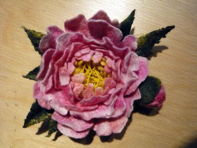 мастер-класс, украшения с цветами