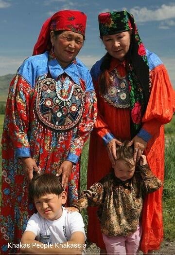 Khakas people, Khakassia, Siberia, Russia.