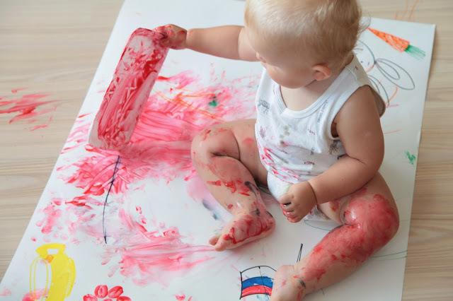 Как рисовать с малышом полутора лет, фото № 8