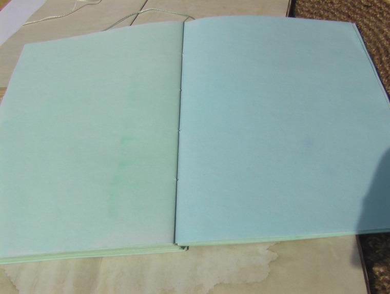 блокнот для записей, состаренная бумага