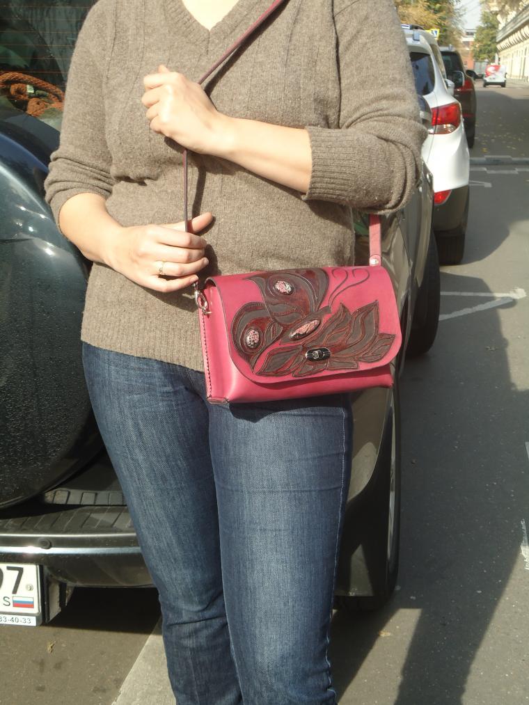 сумка под планшет, функциональный подарок, сумка с декором, сумка денская