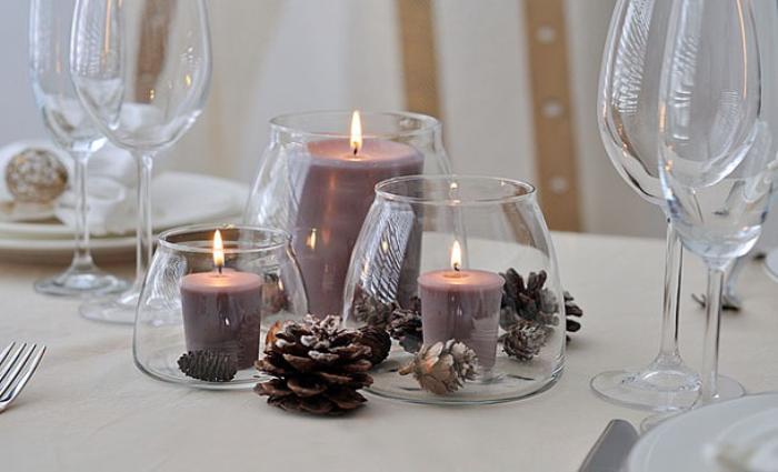 Свечи на бокале своими руками