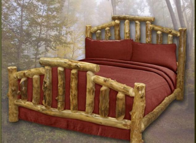 Деревянная кровать как сделать