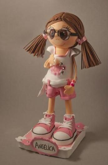 Кукла из фоамирана своими руками мастер
