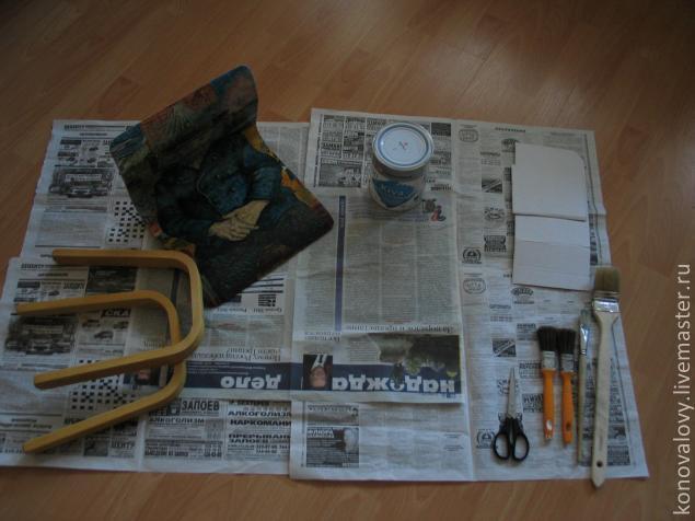 стульчик, живопись