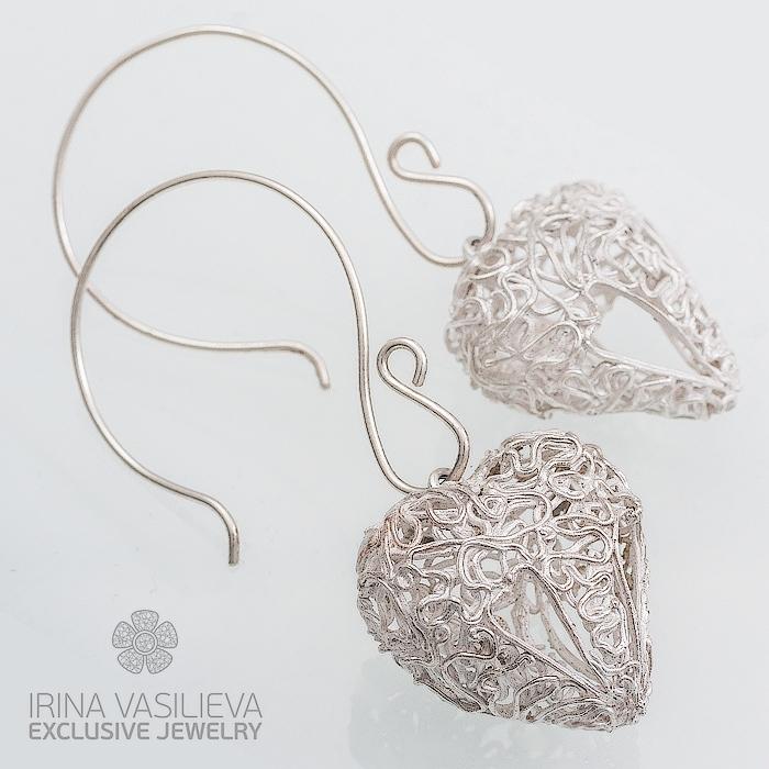 серебро 999, лепка из серебра, ювелирное искусство, подарок