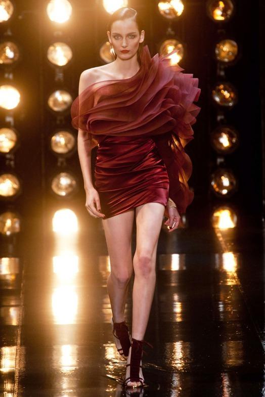 Alexandre Vauthier Haute Couture весна-лето 2014, фото № 28