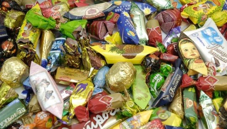 конфеты, история