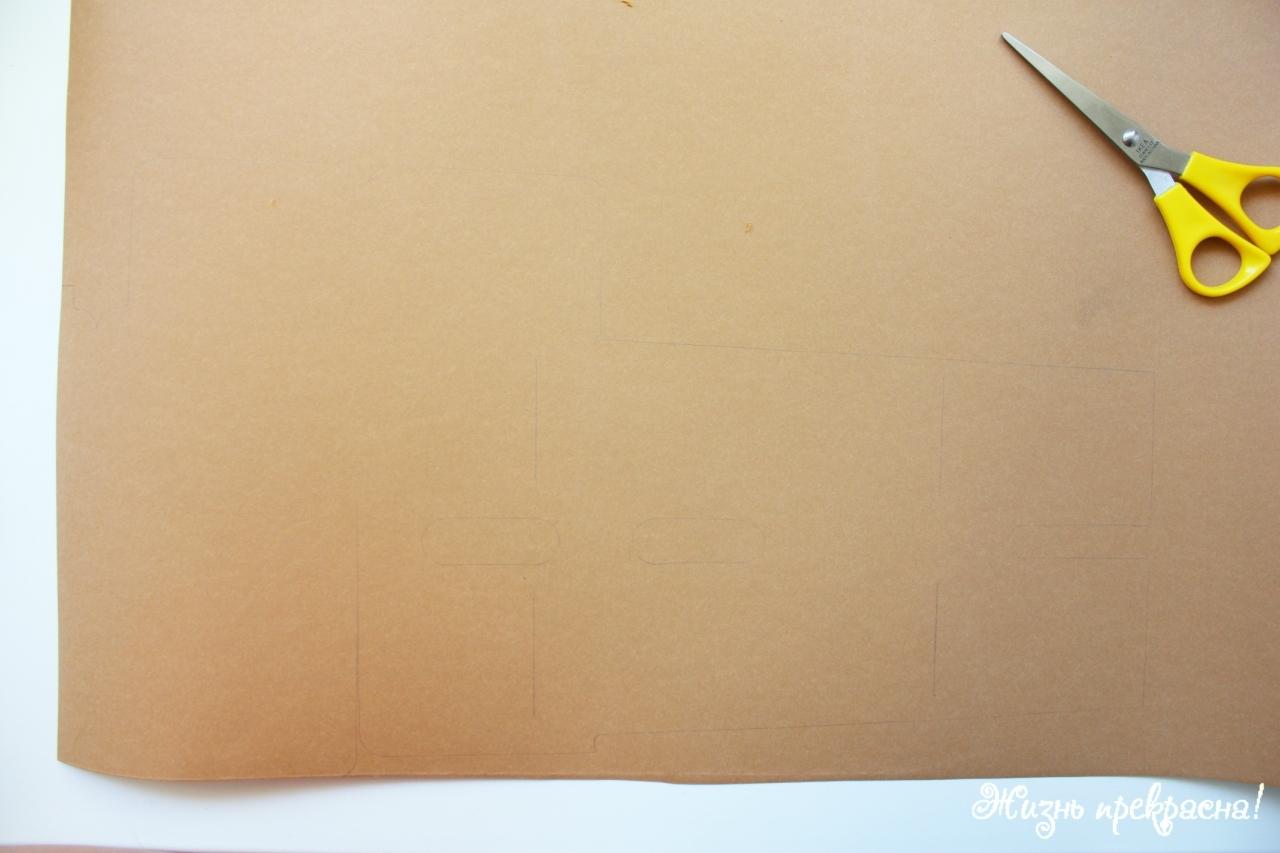моющаяся крафт-бумага