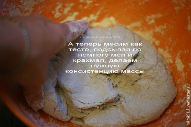 рецепт папье-маше