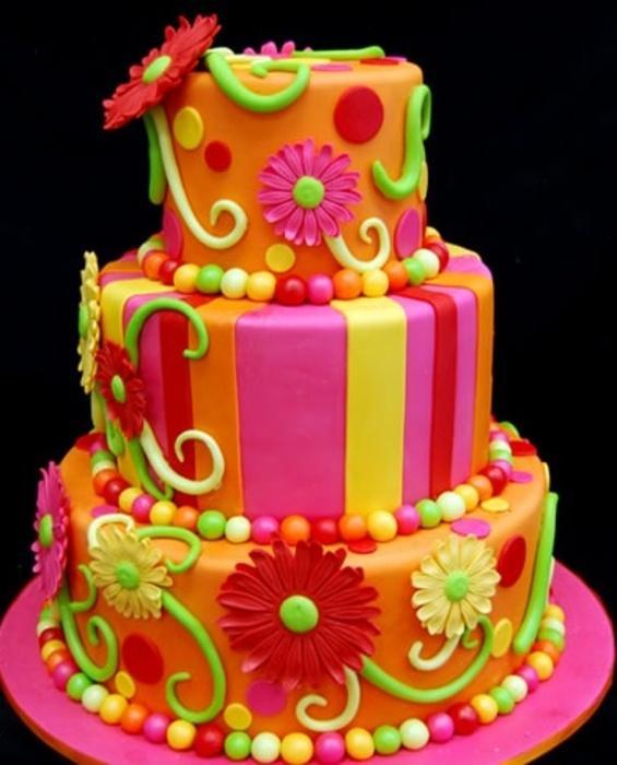 Красивые тортики для детей