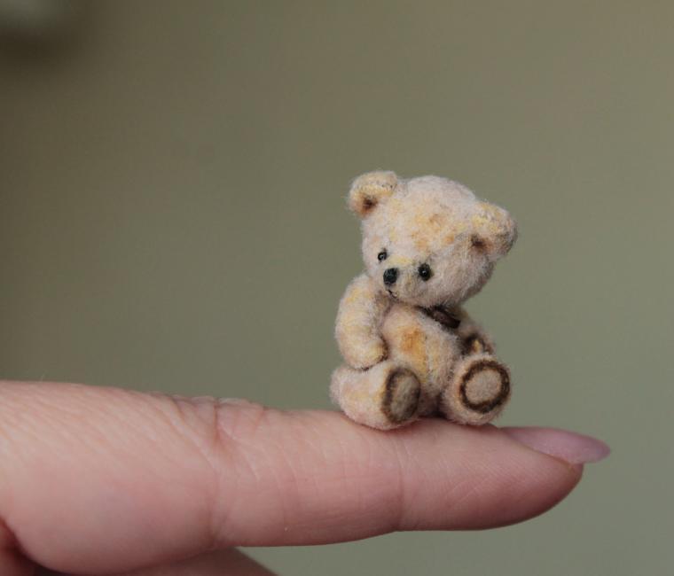 Мишки миниатюрные сшить своими руками 7