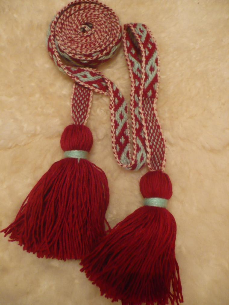 ткачество с перебором, славянская культура