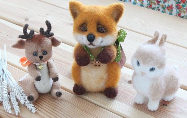Обучение валяния игрушек