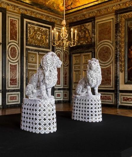 кружевные скульптуры