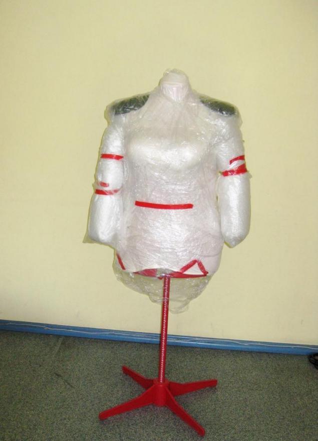 пальто валяное, примерка