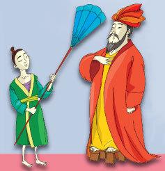 Как сделать опахало для султана своими руками