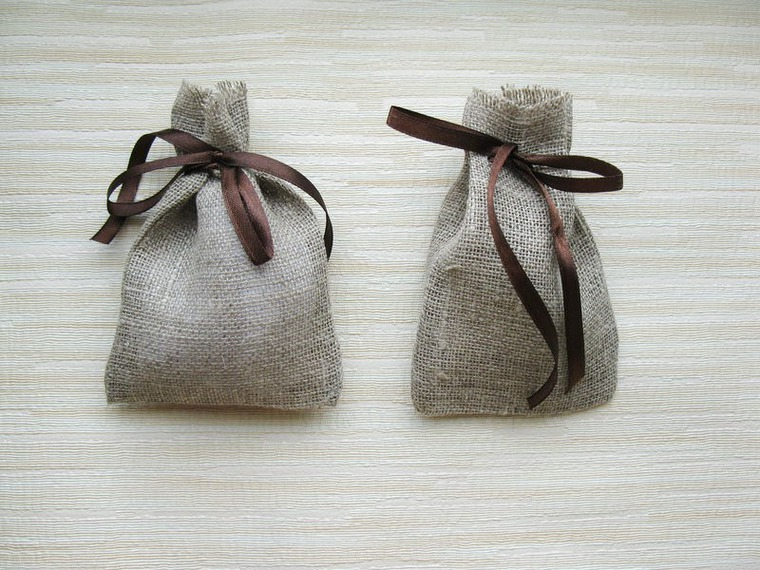 мешочки из льна