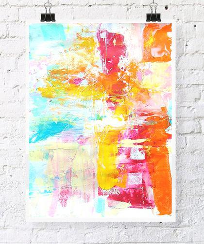 диптих, абстракция, картина в интерьер, акция
