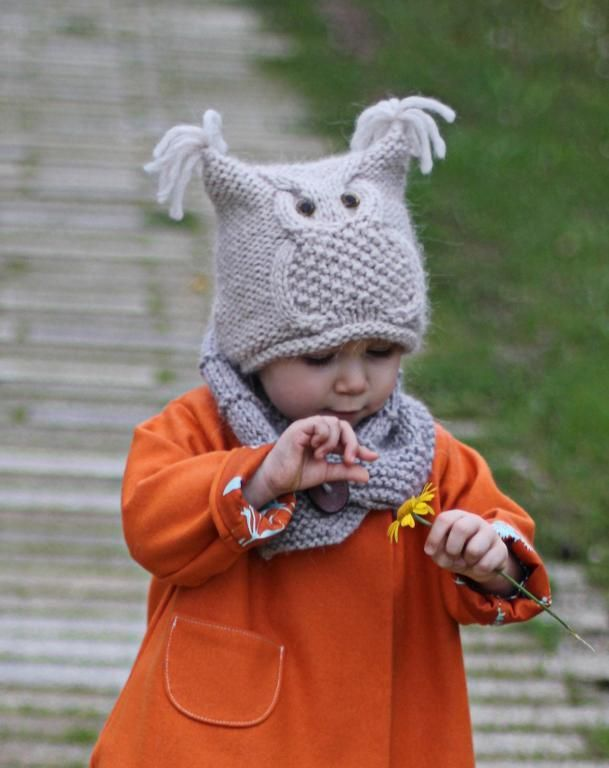 Looking for your next project? You're going to love Owl hat
