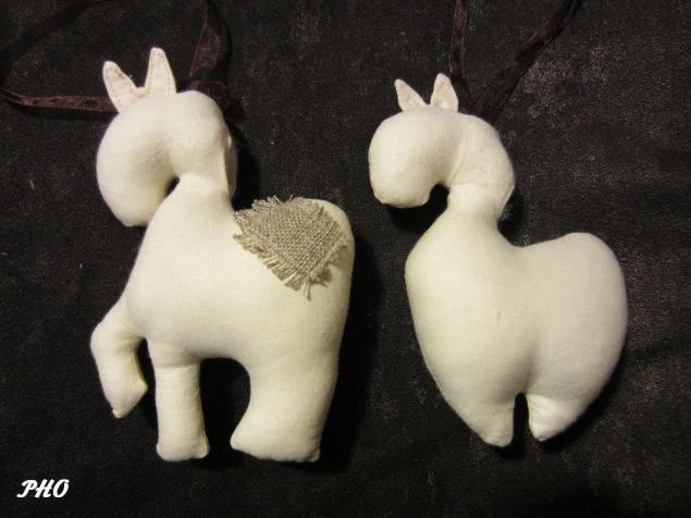 Шьём лошадок - символ 2014 г. 79316