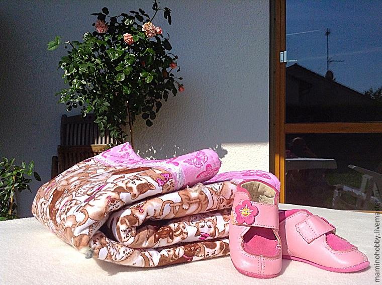 Шьем двустороннее байковое одеялко за 20 минут, фото № 48