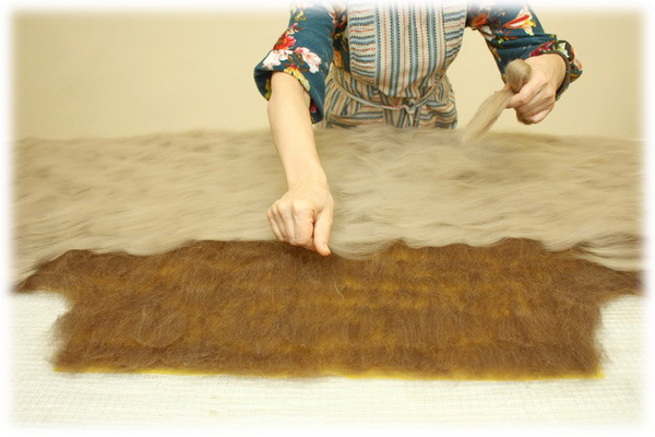 From Simple to Complex: Felting a Jacket with a Yoke, фото № 31