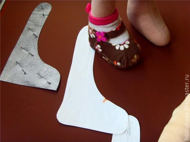 Обувь для куклы большеножки своими руками 249