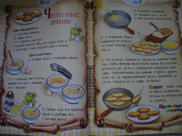 Как сделать электронную книгу рецептов
