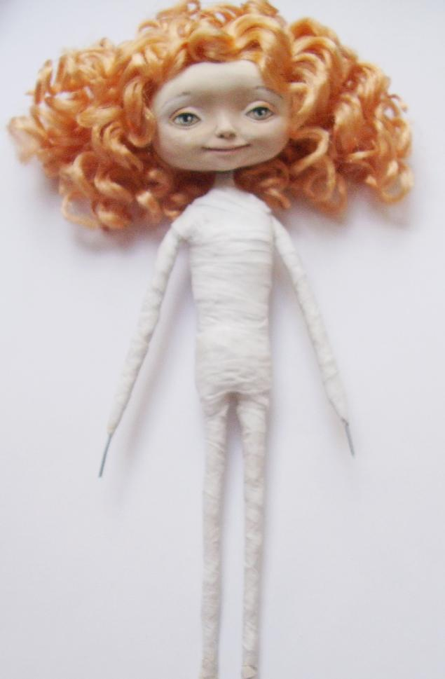 Как сделать куклу своими руками каркасную 41