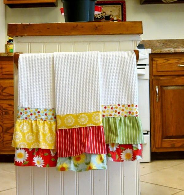 Как декорировать полотенце
