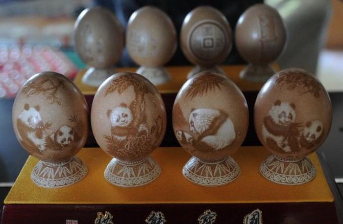 Мастер класс резьбы по яйцу