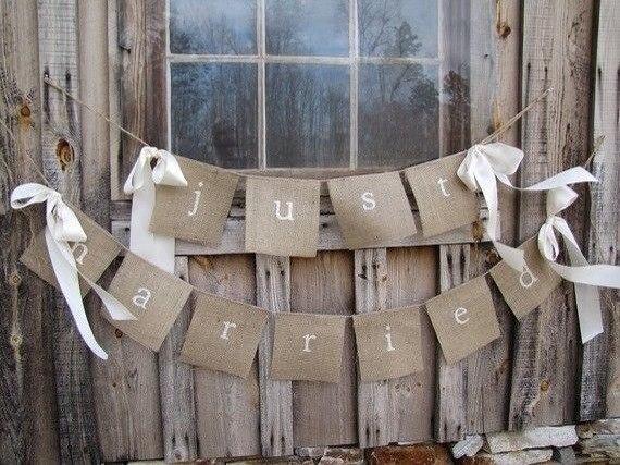 Льняная свадьба. Идеи для вдохновения, фото № 50
