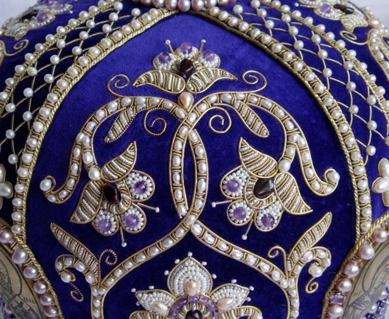 Царская вышивка золотом