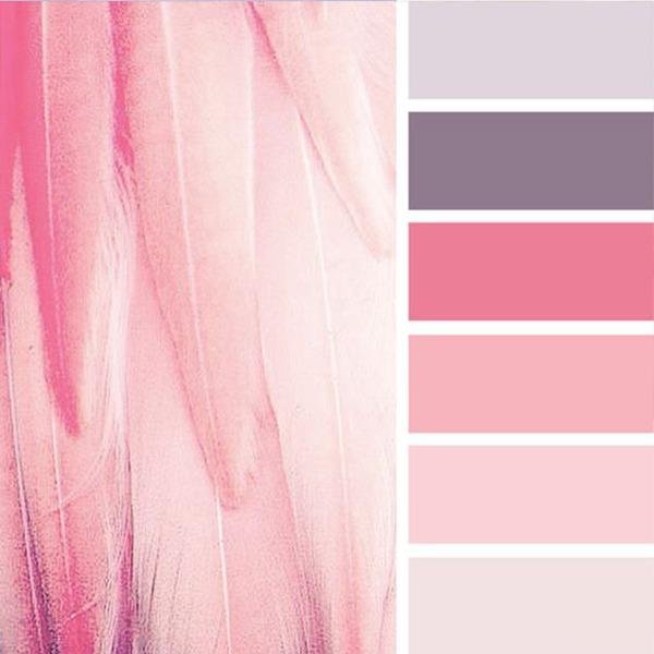 С чем сочетается пудровый-розовый цвет в одежде