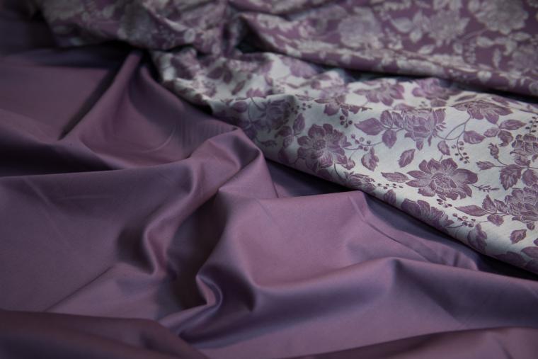 сатин, ткани
