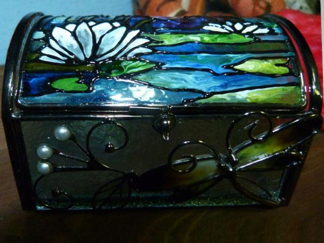 стекло, стиль тиффани, витражная роспись