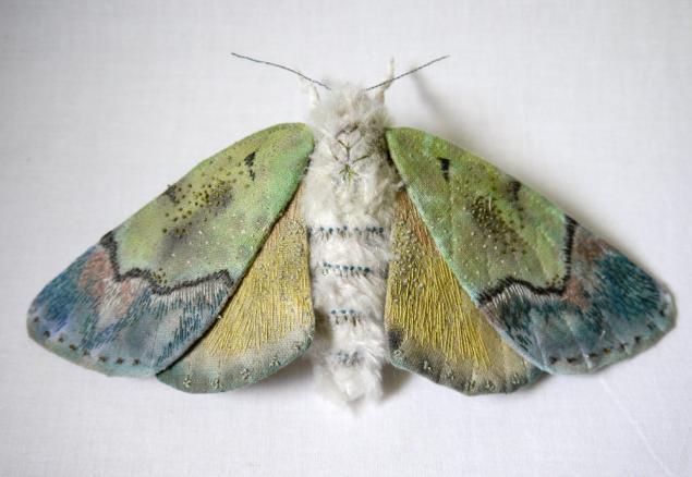Дивные текстильные насекомые от мастера Yumi Okita, фото № 13