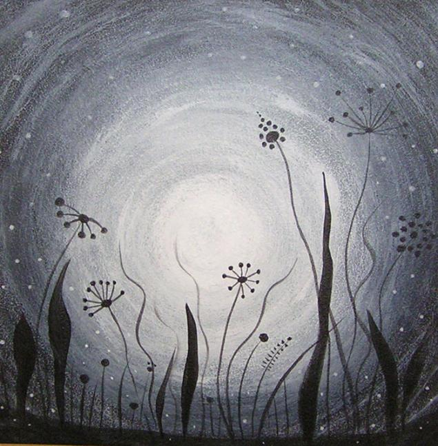 курс, рисовать, моя  первая картина