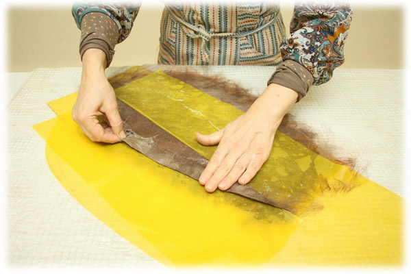 From Simple to Complex: Felting a Jacket with a Yoke, фото № 10