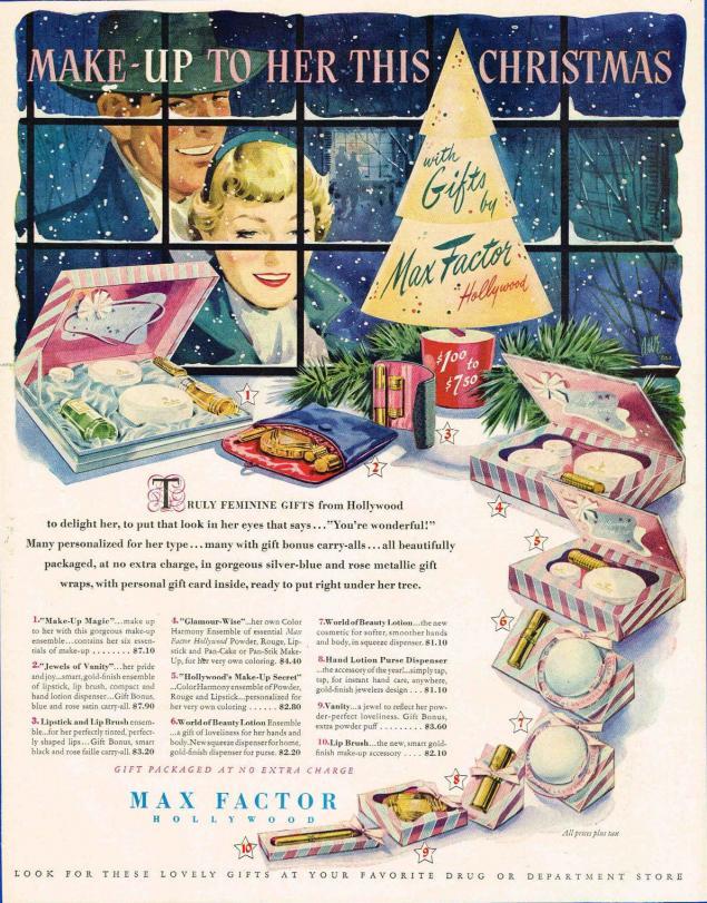 Новогодняя реклама Vintage/1951 -1956 включительно, фото № 48