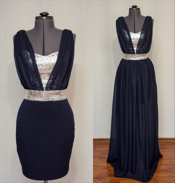 Как сшить съемная юбка на платье 32