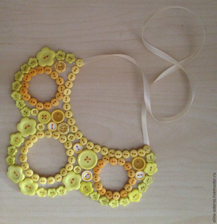 graceful decoration, spring, buttons, exclusive