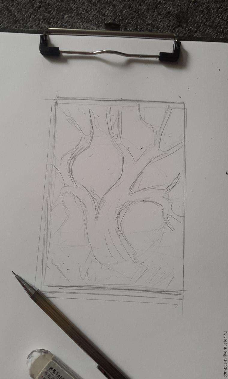рисовать, оригинальное, импрессионизм