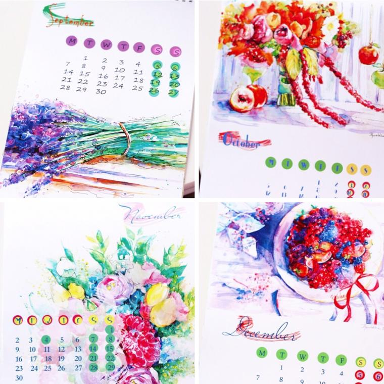 календарь, календарь на 2015 год