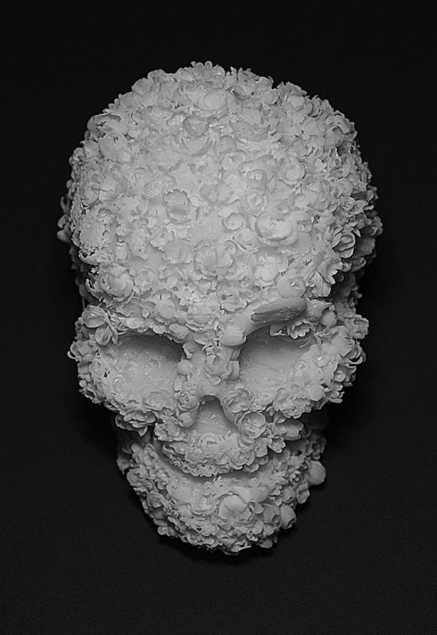 цветочные черепа